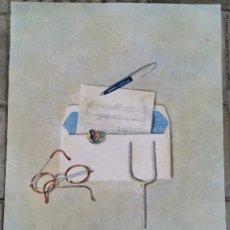Arte: ANTIGUA LITOGRAFIA - CRISTINA SAMPERE - ALEGORIA A LA MÚSICA - NUMERADA P/A VIII/XXV (8/25)/ C-14. Lote 194216456