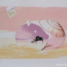 Arte: LITOGRAFIA SERGI CASTIGNANI - SONATA MARINA (1998) NUMERADA P/A XII/XXV PRUEBA AUTOR (12/25) / C-23. Lote 194219581