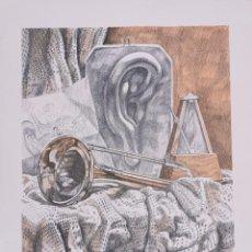 Arte: LITOGRAFIA XAVIER NOGUER BALLESTA - ALEGORIA MUSICA NUMERADA P/A VII/XXV PRUEBA AUTOR (7/25) / C-28. Lote 194220288