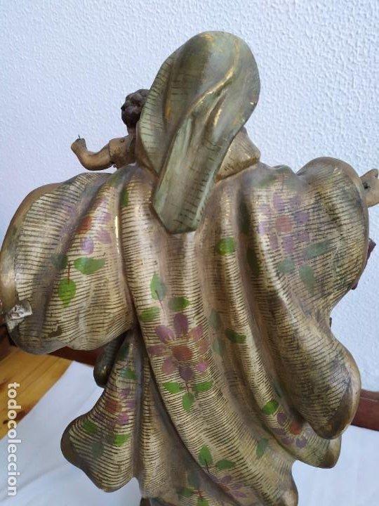 Arte: Virgen del Carmen. s.XIX-XX - Foto 8 - 194222427
