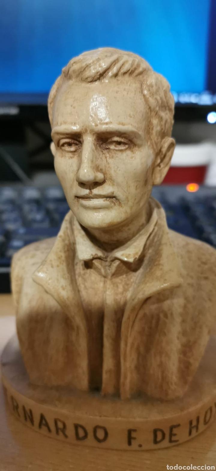 Arte: Busto P. Bernardo F. De Hoyos 13x08 - Foto 5 - 194232471