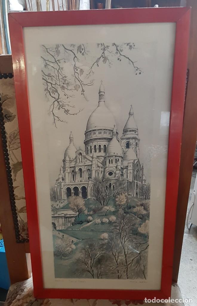 LITOGRAFIA PARIS ORTIZ ALFAU (Arte - Arte Religioso - Litografías)