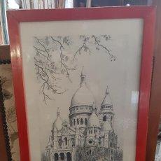 Arte: LITOGRAFIA PARIS ORTIZ ALFAU. Lote 194247417