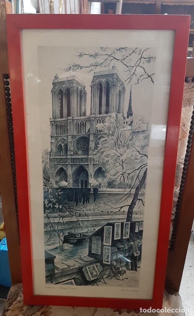 Arte: litografia paris ortiz alfau - Foto 2 - 194247417
