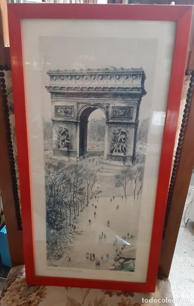 Arte: litografia paris ortiz alfau - Foto 4 - 194247417