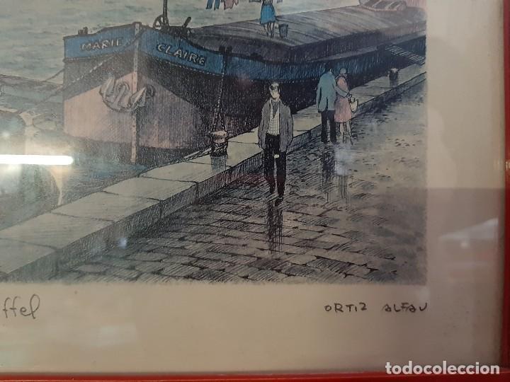 Arte: litografia paris ortiz alfau - Foto 5 - 194247417