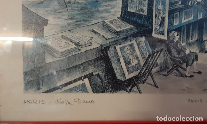 Arte: litografia paris ortiz alfau - Foto 6 - 194247417
