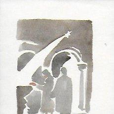 Arte: NADAL 1949. EXEMPLAR ÚNIC DESTINAT AL POETA TOMÀS GARCÉS. AUTOR: J. COMMELERAN (1902-1992). 17X12CM. Lote 194267933