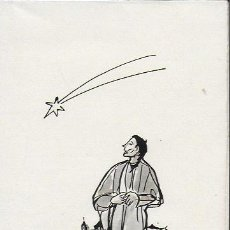 Arte: NADAL 1951. EXEMPLAR ÚNIC DESTINAT AL POETA TOMÀS GARCÉS. AUTOR: J. COMMELERAN (1902-1992). 18X12CM. Lote 194268916