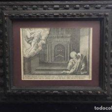 Arte: PETRUS EREMICOLA, ANTIGUO GRABADO SIGLO XVII. Lote 194272496