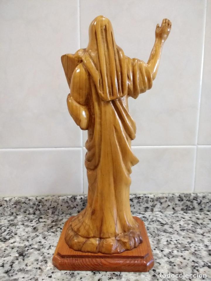 Arte: Talla en Madera de Olivo de Moisés con Los 10 Mandamientos.Hecho a Mano en Belén. - Foto 5 - 194305160