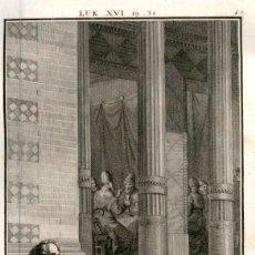 Arte: 1820 ORIGINAL - BIBLIA - BIBLE - NUEVO TESTAMENTO - CARL SCHULER – FREIBURGO - GRABADO ORIGINAL. Lote 194307617