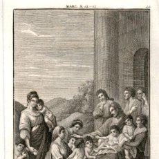 Arte: 1820 ORIGINAL - BIBLIA - BIBLE - NUEVO TESTAMENTO - CARL SCHULER – FREIBURGO - GRABADO ORIGINAL. Lote 194307730