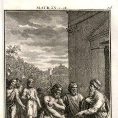 Arte: 1820 ORIGINAL - BIBLIA - BIBLE - NUEVO TESTAMENTO - CARL SCHULER – FREIBURGO - GRABADO ORIGINAL. Lote 194307745