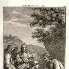 Arte: 1820 ORIGINAL - BIBLIA - BIBLE - NUEVO TESTAMENTO - CARL SCHULER – FREIBURGO - GRABADO ORIGINAL. Lote 194307813