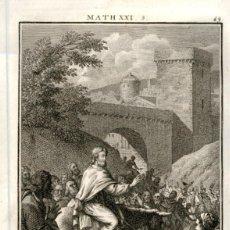 Arte: 1820 ORIGINAL - BIBLIA - BIBLE - NUEVO TESTAMENTO - CARL SCHULER – FREIBURGO - GRABADO ORIGINAL. Lote 194307910