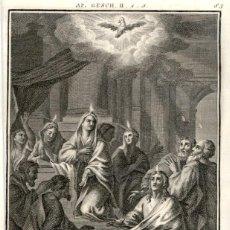 Arte: 1820 ORIGINAL - BIBLIA - BIBLE - NUEVO TESTAMENTO - CARL SCHULER – FREIBURGO - GRABADO ORIGINAL. Lote 194309902