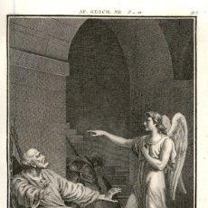 Arte: 1820 ORIGINAL - BIBLIA - BIBLE - NUEVO TESTAMENTO - CARL SCHULER – FREIBURGO - GRABADO ORIGINAL. Lote 194310207