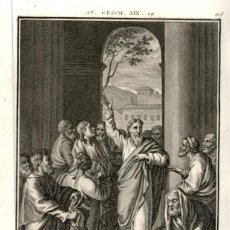 Arte: 1820 ORIGINAL - BIBLIA - BIBLE - NUEVO TESTAMENTO - CARL SCHULER – FREIBURGO - GRABADO ORIGINAL. Lote 194310345