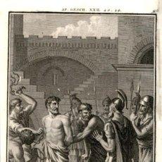 Arte: 1820 ORIGINAL - BIBLIA - BIBLE - NUEVO TESTAMENTO - CARL SCHULER – FREIBURGO - GRABADO ORIGINAL. Lote 194310406
