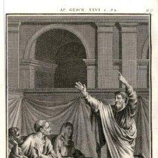 Arte: 1820 ORIGINAL - BIBLIA - BIBLE - NUEVO TESTAMENTO - CARL SCHULER – FREIBURGO - GRABADO ORIGINAL. Lote 194310475