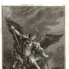 Arte: 1820 ORIGINAL - BIBLIA - BIBLE - NUEVO TESTAMENTO - CARL SCHULER – FREIBURGO - GRABADO ORIGINAL. Lote 194310487
