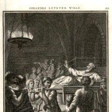 Arte: 1820 ORIGINAL - BIBLIA - BIBLE - NUEVO TESTAMENTO - CARL SCHULER – FREIBURGO - GRABADO ORIGINAL. Lote 194310520