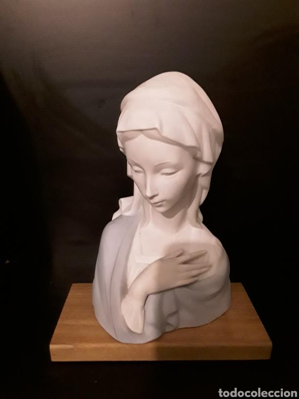 ESTATUA LLADRO VIRGEN SIN BRILLO (Arte - Arte Religioso - Escultura)