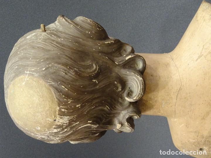 Arte: Cabeza de María Magdalena en terracota napolitana, S.XVIII - Foto 14 - 194326406