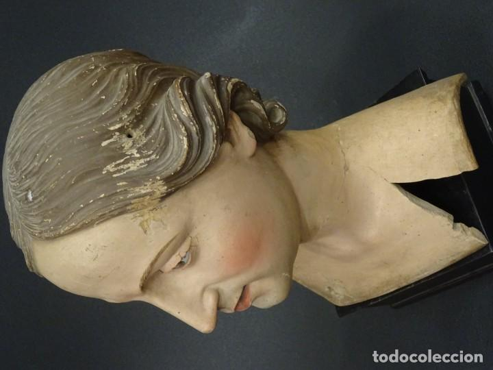 Arte: Cabeza de María Magdalena en terracota napolitana, S.XVIII - Foto 17 - 194326406