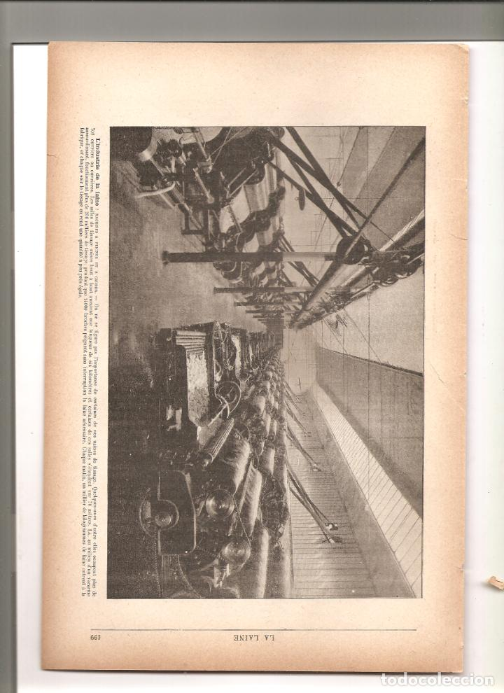 1149. INDUSTRIA DE LANA EN 1896 (Arte - Arte Religioso - Litografías)