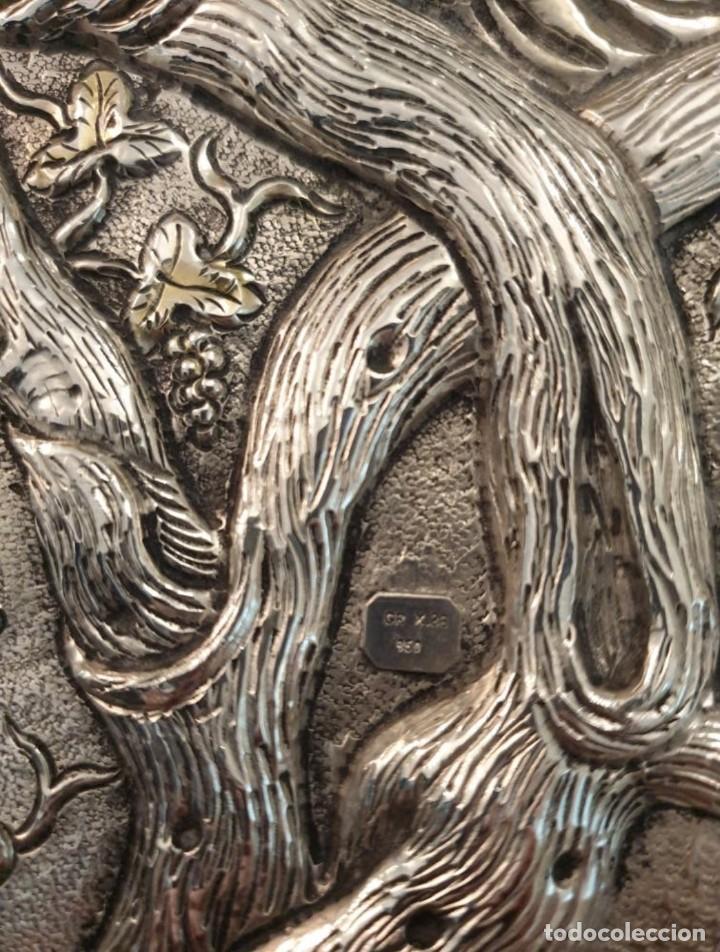 Arte: Réplica de icono bizantino de plata 950-999 - Foto 6 - 194339118