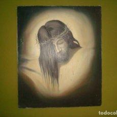 Arte: ECCE HOMO OLEO SOBRE LIENZO 65X54 CM. Lote 194340481