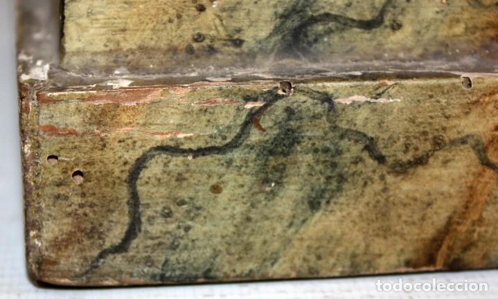 Arte: PRECIOSA VIRGEN EN PASTA DE MADERA DE LAS ARTES DECORATIVAS DE PEDRO LLORET (OLOT) - Foto 18 - 194404716