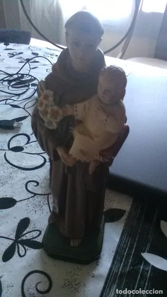 SAN ANTONIO PADUA (Arte - Arte Religioso - Escultura)