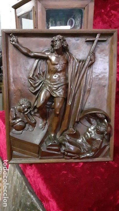 Arte: Puerta de nogal relieve - Foto 7 - 194502788
