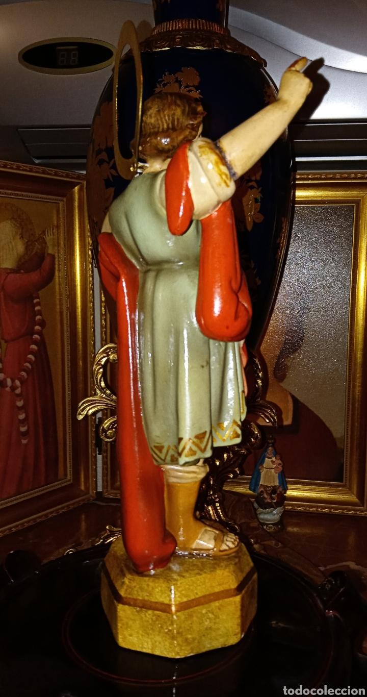 Arte: ANTIGUA IMAGEN RELIGIOSA SAN PANCRACIO - PASTA DE MADERA DE OLOT - - Foto 3 - 194507247