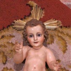 Arte: NIÑO JESUS GRANDE, IMAGINERIA RELIGIOSA OLOT.. Lote 194514293