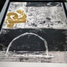 Arte: GRABADO DE JAUME RIBAS ORIGINAL MEDIDAS 1,20 X 80 CM. Lote 194520041