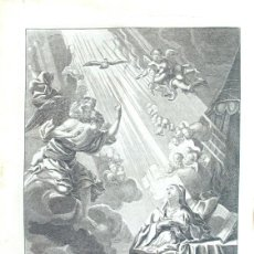 Arte: ANTIGUO GRABADO AL AGUAFUERTE. ESCENA DE LA ANUNCIACIÓN. 1732. Lote 194526852