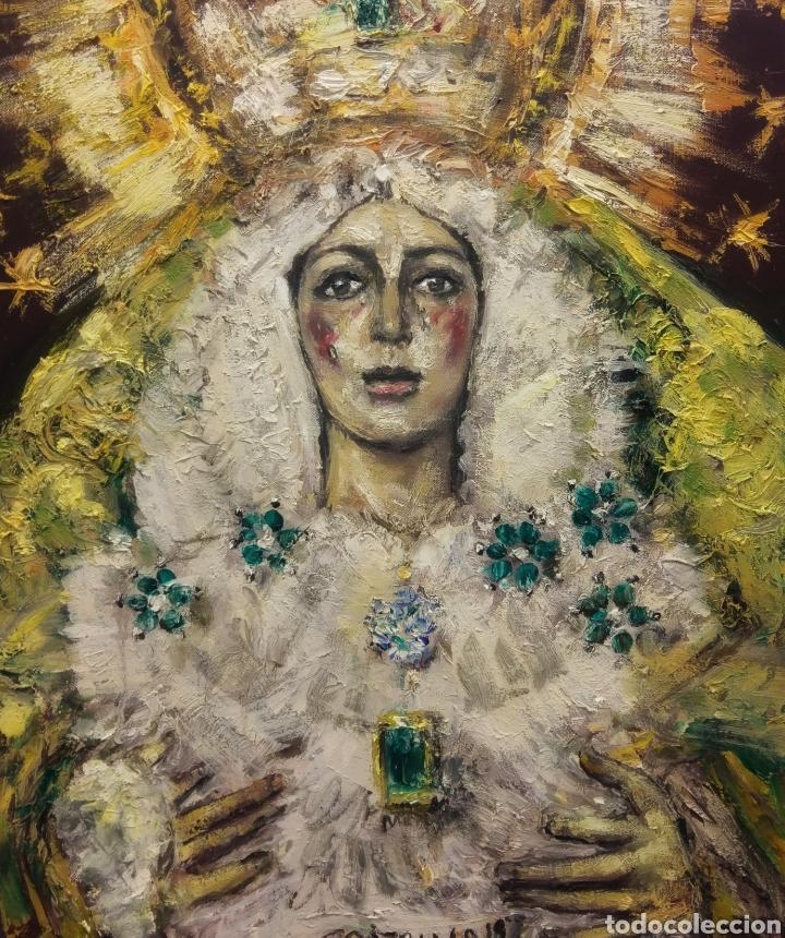 ESPERANZA MACARENA 2019 (Arte - Arte Religioso - Pintura Religiosa - Oleo)