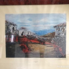 Arte: ESCODA COROMINAS, JUAN (1920-2012). LA TAUROMAQUIA. TIRADA LIMITADA.. Lote 194601063