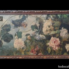 Arte: RAFAEL LATORRE VIEDMA (GRANADA 1872-1960 ) FLORES. Lote 194609491