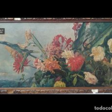 Arte: RAFAEL LATORRE VIEDMA (GRANADA 1872-1960 ) FLORES. Lote 194612190
