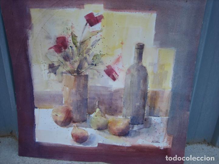 Arte: Acuarela . Almudena Bellido Fdez-Montes. M 80x80 cm - Foto 3 - 194618301