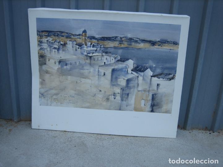 Arte: Acuarela . Almudena Bellido Fdez-Montes. M 100x80 cm - Foto 2 - 194619113