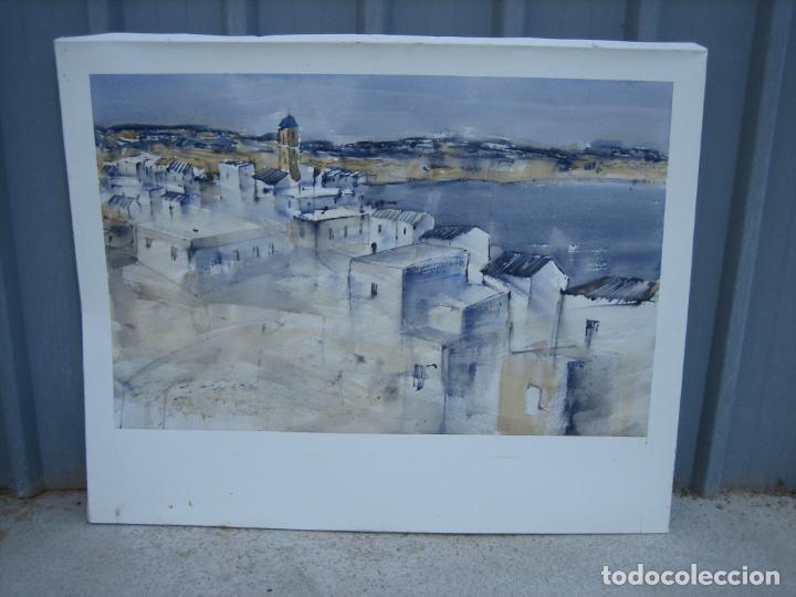 Arte: Acuarela . Almudena Bellido Fdez-Montes. M 100x80 cm - Foto 3 - 194619113