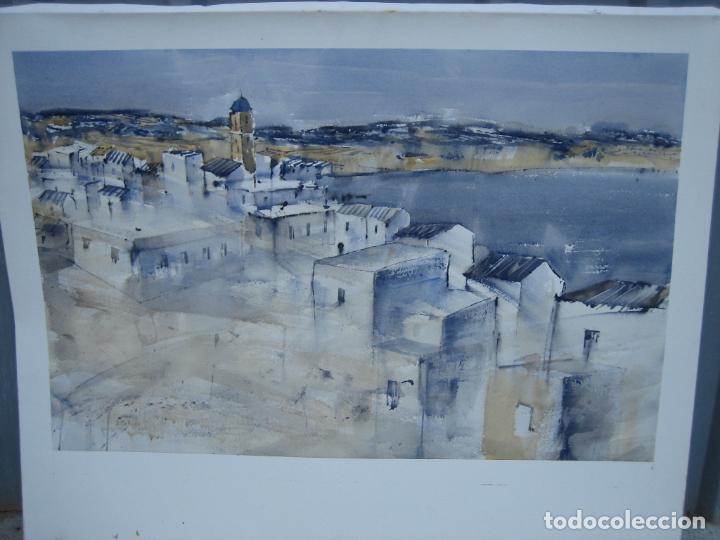 Arte: Acuarela . Almudena Bellido Fdez-Montes. M 100x80 cm - Foto 4 - 194619113