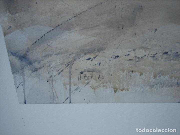 Arte: Acuarela . Almudena Bellido Fdez-Montes. M 100x80 cm - Foto 5 - 194619113