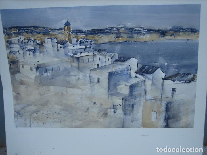ACUARELA . ALMUDENA BELLIDO FDEZ-MONTES. M 100X80 CM (Arte - Arte Religioso - Pintura Religiosa - Acuarela)